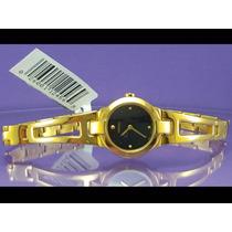 Relógio Seiko Suj706 Original, Quartz Japonês, Visor Preto.
