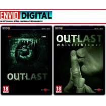Outlast + Dlc Whistleblower - Pc Legendado - Envio Digital