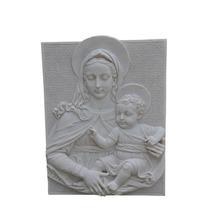 Quadro Maria 2 Em Pó De Mármore- Iml172 - Imagem Sacra