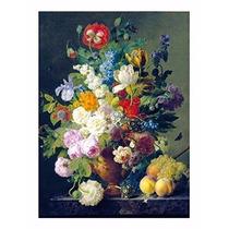 Quebra Cabeça Puzzle 1000 Peças Van Gogh: Vaso De Flores