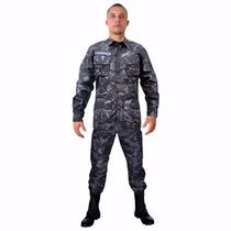 Farda Militar Camuflada Petroleo Ripstop - Loja Oficial