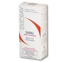 Ducray Sabal Shampoo Tratante Para Cabellos Grasos X 125 Ml