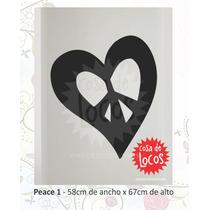 Vinilo Decorativo Símbolo Peace Paz - Stickers - Calcos