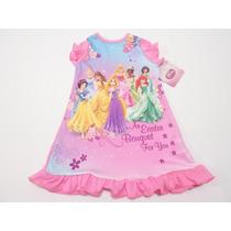 Pijama Bata Camison Princesas Para Niña Bebe 1 Año