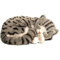 Filhote Perfect Petzzz Gato Cinza Malhado Que Respira
