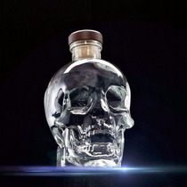 Vodka Crystal Head Caveira 750ml Original ( Rolling Stones)