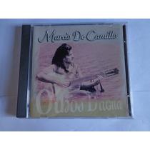 Cd Marcio De Camillo - Olhos D