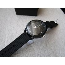 Moderno Reloj Emporio Armani Negro 45.mm Subasta 1 Peso