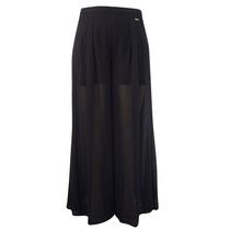Calça Pantalona Preta - Plus Size