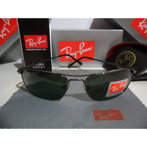 Oculos De Sol 3132 Demolidor Grafite Lentes Verdes