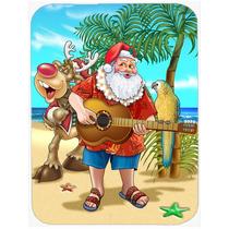 Playa De Santa Claus Navidad Tiempo De La Isla De Cristal Ta