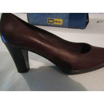 Zapatos 16hrs,mujer,cuero ,numero : 39