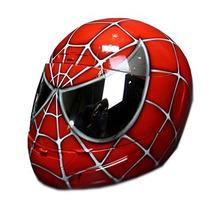 Capacete Personalizado Pintura Spider Man Mixs