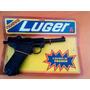 Pistola Juguete Luger Mecanismo De Chapa Nueva Años 60s