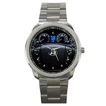 Famousup Hyundai Genesis Reloj Del Metal Del Deporte Del R