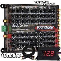 Crossover Equalizador Audio Control Soundigital + Brindes