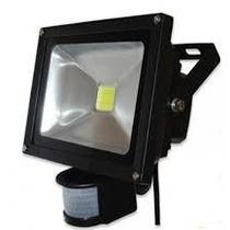 Kit 7 Refletores Led 20w Com Sensor Fotocelula Maxtel Ip66