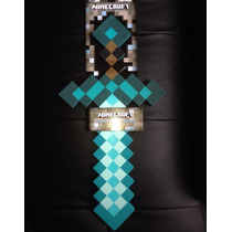 100% Original Minecraft Espada Diamante Espuma Rigida