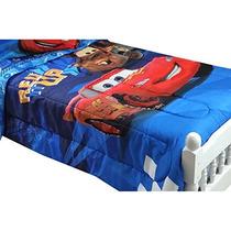 Cama Disney Cars Twin-completa Consolador Rayo Mcqueen City