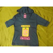 Camisa Franela One Direction Artistas Online Talla 4 Y 6