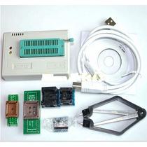 Kit Gravador Notebook Tl866cs Tl866 Bios Flash Eprom Ecu Etc