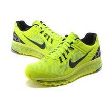 Tenis Nike Air Max 2014 Limão Unissex Original 100%