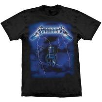 Camiseta Metallica Ride The Lightning Stamp