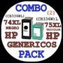 Cartuchos Genericos Hp Cb336wn Hp 74xl + Hp 75xl Cb338wl