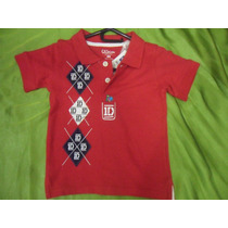 Camisa One Direction Artistas Online Talla 2