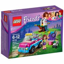 Lego Friends - 41116 - O Carro De Exploração Da Olivia