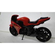 Moto Street 1000 - Cor Vermelha - Brinquedo Para Criança
