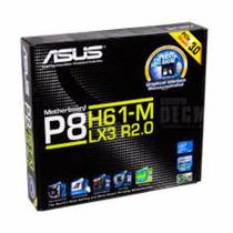 Placa Mãe Asus P8h61-m Lx2 Socket Lga 1155 P/ Intel I3 I5 I7