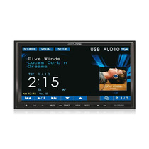 Dvd Player Alpine Iva-w520 Tela 7´ 2 Din Motorizada - Usb, I