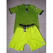 Conjunto Adidas Adizero Nuevo Talla Chica Con Sus Etiquetas