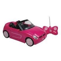 Carrinho Da Barbie Rádio Controle 7 Funções Candide Novo