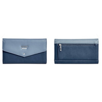 Billetera Guess Original Davison Flap Wallet. Color Blue