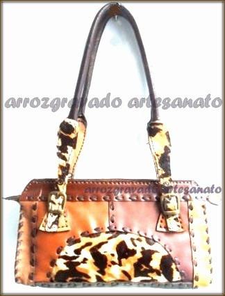 9b73322cd Bolsa Couro Legitímo, Feita A Mão, Bolsa Artesanal,cintos - R$ 119 ...