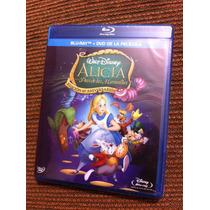 Alicia En El País De Las Maravillas - 60 Años Bluray/dvd New