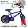 Bicicleta Cross Rodado 12 Cuadro De Aluminio - Richard Bikes
