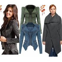 Abrigo Moda Japonesa Chamarra Saco Blazer Jacket Envio Dhl