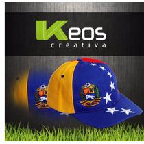 Gorras Tricolor Venezuela 7 Estrellas + Gift