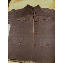 Campera Chaqueta Mujer Talle L ( 48 ) Color Chocolate