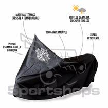 Capa Protetora P/ Moto Harley Davidson Impermeável Tam. Egg
