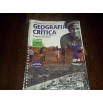 Livro Geografia Crítica Professor 6 ° Ano Editora Ática Vese