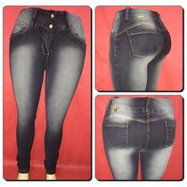Calça Jeans Legging Meitrix- Plus Size- Cintura Média