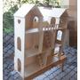 Casa De Muñecas Barbie,2 Escaleras,terraza, Sin Pintar