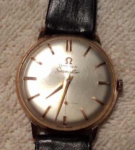 17f591c9355 Relógio De Pulso Omega Seamaster Ouro 18 K - R  6.000