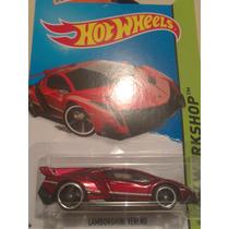 Hot Wheels De Coleccion 2015 Lamborguini Veneno Rojo Bvf