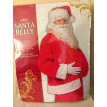 Disfraz De Santa Claus Panza $650.00