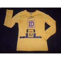 Blusa Camisa One Direction Artistas Online Talla 6 Y 8